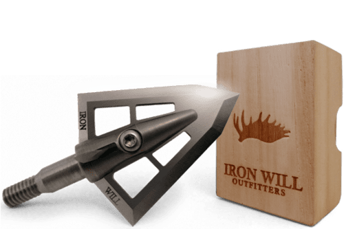 Наконечник Iron Will V-Series Broadheads